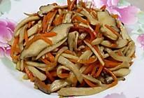 素炒杏鲍菇胡萝卜的做法
