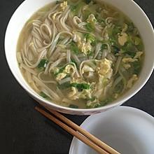 白菜炝锅面