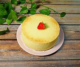 原味戚风蛋糕(6寸)的做法