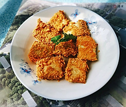 面包糠豆腐(花样吃法)的做法