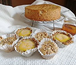 戚风蛋糕香蕉挞的做法