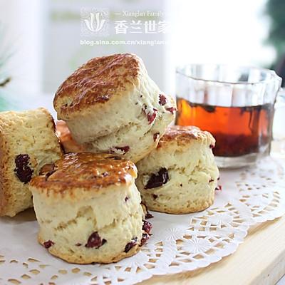 [香兰世家]蔓越莓司康 饼干还是面包?