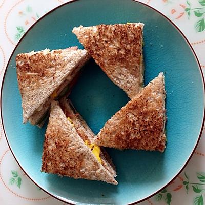 公司三明治的做法 步骤1