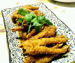 虎皮凤爪,粤式早茶--酱汁蒸凤爪的做法