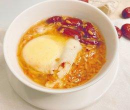 #中秋宴,名厨味#酒糟煮鸡蛋的做法