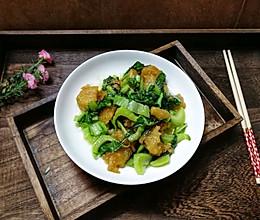 #甜粽VS咸粽,你是哪一党?#芥菜炒粽的做法