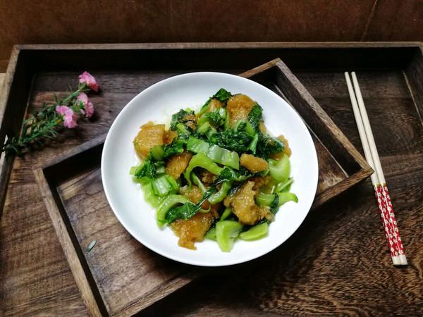 芥菜炒粽的做法