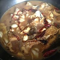 #一鱼两吃 # 红烧胖头鱼+ 鸡腿菇鱼头汤的做法图解3