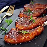 蜜汁烤羊排#松下烤箱烘焙盛宴#的做法图解8