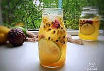 #精品菜谱挑战赛#百香果柠檬气泡水的做法