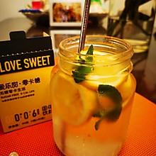 #爱乐甜夏日轻脂甜蜜#爱乐甜柠檬苏打水