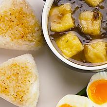 日式香糯烤饭团 太阳猫早餐