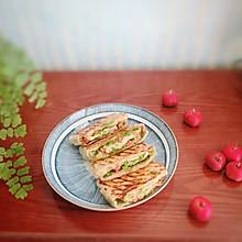 青椒火腿饼
