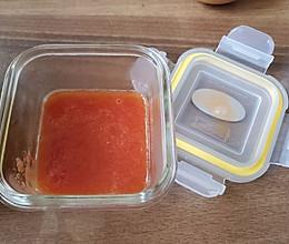 辅食 西红柿酱的做法