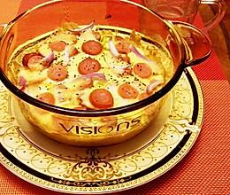 奶酪焗饭:剩米饭的华丽转身的做法