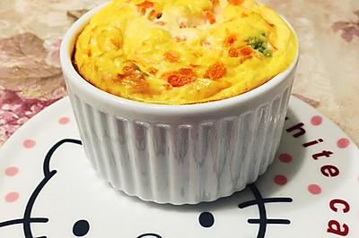 蔬菜鸡蛋羹