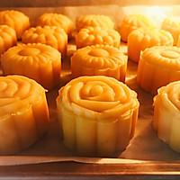 仿香港美心流心奶黄月饼#法国乐禧瑞,百年调味之巅#的做法图解41