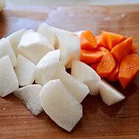 萝卜羊排骨汤#肉食者联盟#的做法图解3