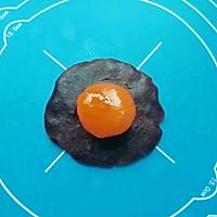 豆沙蛋黄酥#晒出你的团圆大餐#的做法图解12