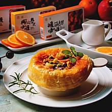 咖喱菌菇酥皮汤