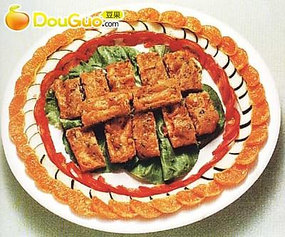 炸虾饼 的做法