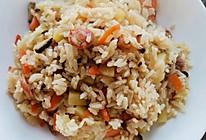 腊肠杂蔬焖米饭的做法