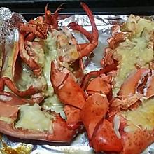 芝士蒜蓉焗龙虾