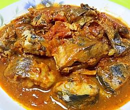 乐乐自家菜--茄汁青鱼的做法