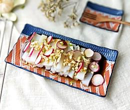 蒜香蒸凉粉(秋天吃口蒸的,热乎)的做法