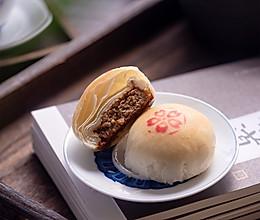 苏式鲜肉月饼,传统点心