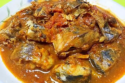 乐乐自家菜--茄汁青鱼