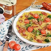 Omelette意大利面欧姆蛋的做法