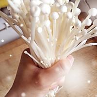 油炸金针菇的做法图解2