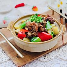#一道菜表白豆果美食#土鸡炖土豆