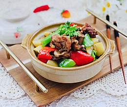 #一道菜表白豆果美食#土鸡炖土豆的做法