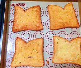 淡奶油烤吐司片【消灭淡奶油】的做法