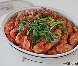 家庭版海鲜焖锅的做法