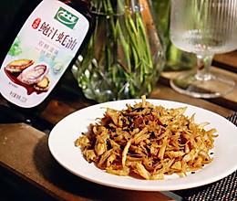 香辣鸡丝:超简单的下酒菜&小零食!的做法