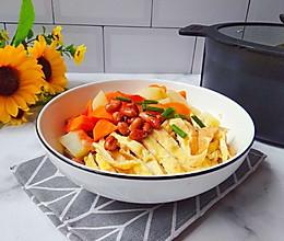 #520,美食撩动TA的心!#素汤荞麦面的做法