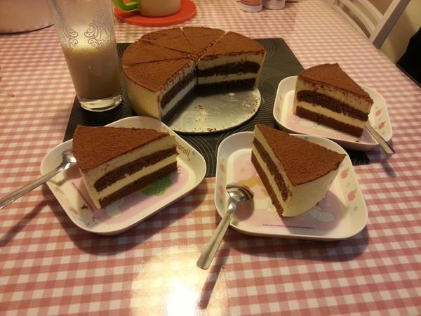 提拉米苏(巧克力海绵蛋糕版)