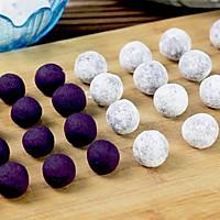 """茄汁紫薯球#""""宴""""遇灵山,拈花品素#的做法图解6"""