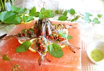 泰式生虾刺身的做法