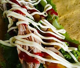 #一起土豆沙拉吧#沙拉酱让东北大煎饼华丽转身的做法