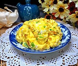 清水炒鸡蛋的做法