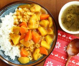 基础款土豆咖喱饭的做法