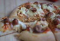 烤箱试用 香肠鸡肉双拼披萨#九阳烘焙剧场#的做法