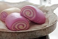 一学就会做紫薯馒头的做法