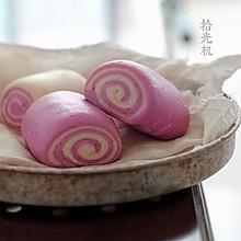 一学就会做紫薯馒头