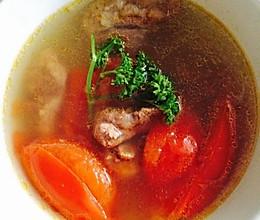 番茄牛尾清汤的做法