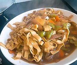 乱炒干豆腐的做法